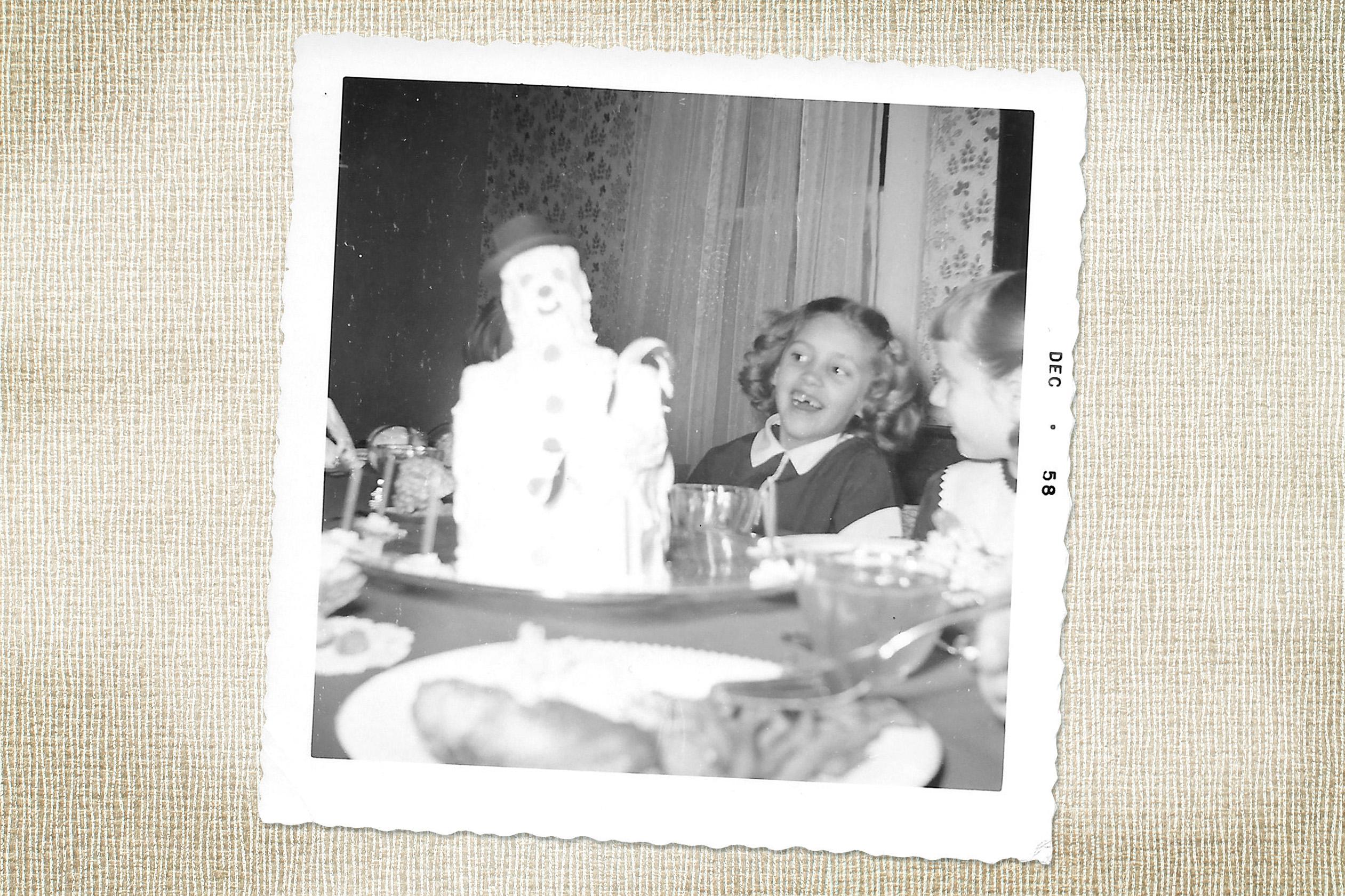 mw+gf birthday cake celebration