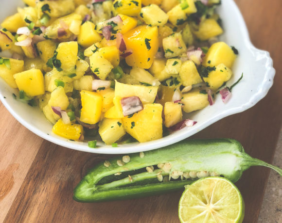 Pineapple Mango Relish