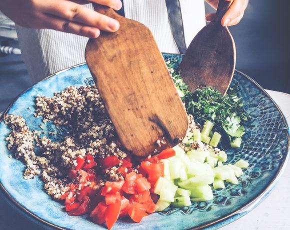Quinoa Kale Tabbouleh