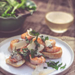 Basil Butter Shrimp